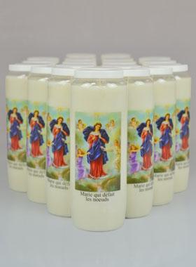 20 bougies de neuvaine qui d 233 fait les noeuds la boutique des chr 233 tiens