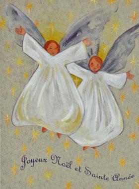 Carte de Voeux Religieuse Joyeux Noël et Sainte Année | La