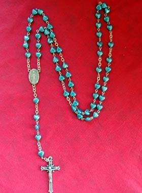 Chapelet Perles Coeur