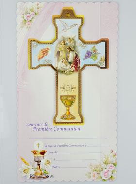 Croix De Communion Fille Cadeau Souvenir La Boutique Des
