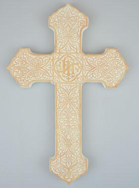 Croix Religieuses croix religieuse en plâtre 20 cm | la boutique des chrétiens