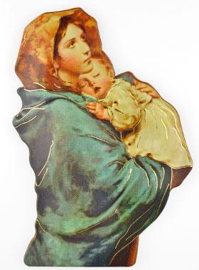 32ac9344a8603 Magnet Vierge Madone à l Enfant Jésus