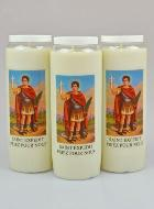 3 Bougies de Neuvaine Saint Expedit