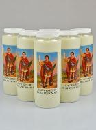 6 Bougies de Neuvaine Saint Expedit