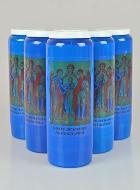 6 Bougies de Neuvaine Bleue - Saints Archanges
