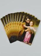 Lot de 10 Cartes - Saint Joseph
