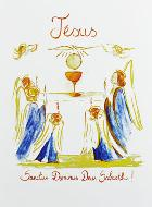 Carte de Communion - Jésus Eucharistie