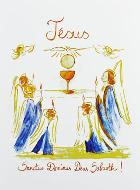 Image de Communion - Jésus Eucharistie