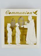 Carte de Communion Pop-Up - Tableau 3D