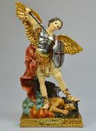 Statue Saint Michel Archange - 30 cm