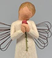 Ange Willow Tree - Ange de l'Amour (Loving Angel) - 14 cm
