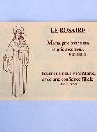 Livret Le Rosaire + Les 4 Mystères
