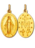 Medaille Bapteme Vierge Miraculeuse