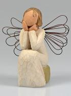 Ange Willow Tree - Ange de l'écoute (Angel of Caring) - 10 cm